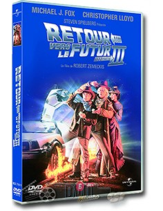 Back to the Future 3 - Michael J. Fox - DVD (1990)