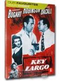 Key Largo - Humphrey Bogart, Lauren Bacall, Edward G Robinson - DVD (1948)