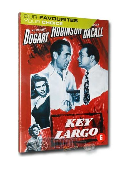Key Largo - Humphrey Bogart, Lauren Bacall - DVD (1948)