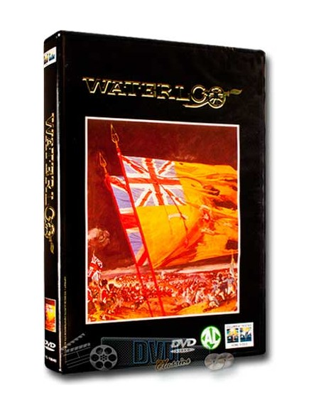 Waterloo - Rod Steiger, Orson Welles, Christopher Plummer - DVD (1970)
