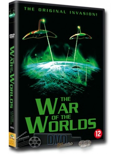 War of the Worlds - Gene Barry - DVD (1953)