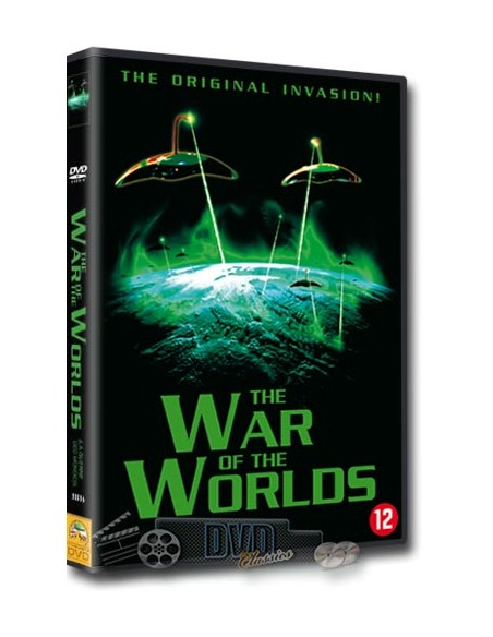 The War of the Worlds - Gene Barry, Ann Robinson - DVD (1953)