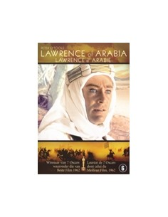 Lawrence of Arabia - Peter O'Toole, Alec Guiness - DVD (1962)