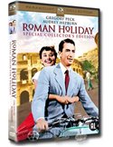 Roman Holiday - Gregory Peck, Audrey Hepburn - DVD (1953)