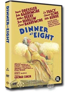 Dinner At Eight - Jean Harlow, John Barrymore - DVD (1933)
