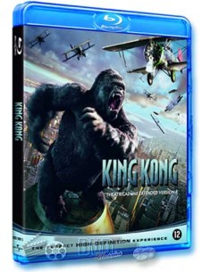 King Kong - Jack Black, Naomi Watts - Blu-Ray (2005)