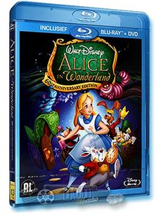 Alice in Wonderland - Walt Disney - Blu-Ray (1951)