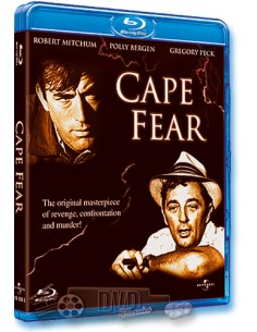 Cape Fear - Robert Mitchum, Gregory Peck - Blu-Ray (1962)
