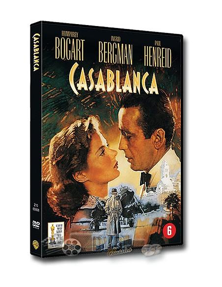Casablanca - Humphrey Bogart, Ingrid Bergman, Peter Lorre - DVD (1942)