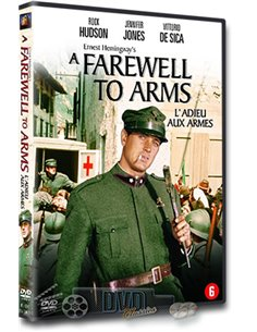 A Farewell to Arms - Rock Hudson, Jennifer Jones - DVD (1957)