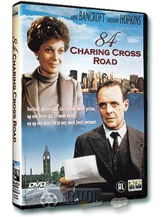 84 Charing Cross Road - Anne Bancroft, Anthony Hopkins - DVD (1987)