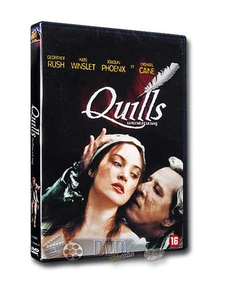 Quills - Kate Winslet, Linda Blair, Michael Caine - DVD (2000)