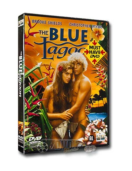 The Blue Lagoon - Brooke Shields, Christopher Atkins - DVD (1980)