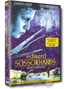 Edward Scissorhand - Johnny Depp, Winona Ryder - DVD (1990)