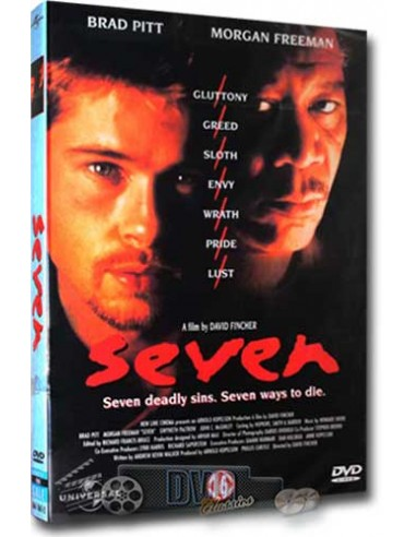 Seven - Brad Pitt, Morgan Freeman - DVD (1995)