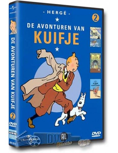Kuifje Collection 2 - DVD (1991)