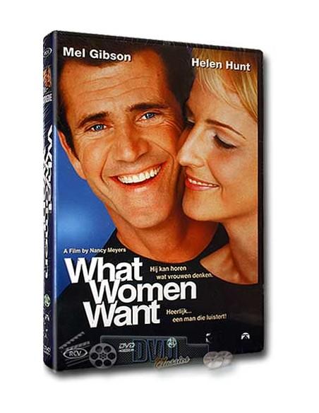 What Women Want - Mel Gibson, Helen Hunt, Marisa Tomei - DVD (2000)