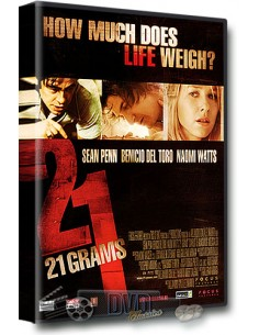 21 Grams - Sean Penn, Naomi Watts, Danny Huston - DVD (2003)