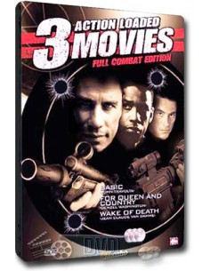 3 Action Loaded Movies Full Combat Edition [3DVD] Steelbook