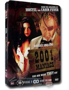 2001 Maniacs - Robert Englund - DVD (2005) Steelbook