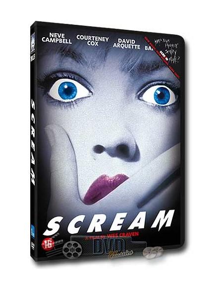 Scream - Courteney Cox, David Arquette, Drew Barrymore - DVD (1996)