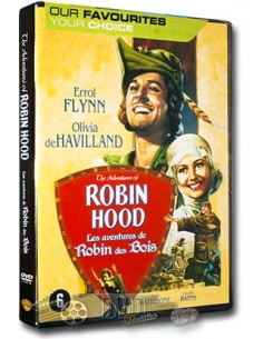 Adventures of Robin Hood - (DVD)