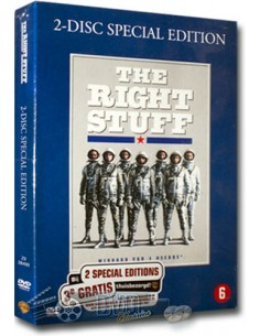 The Right Stuff - Barbara Hershey, Dennis Quaid- DVD (1983)