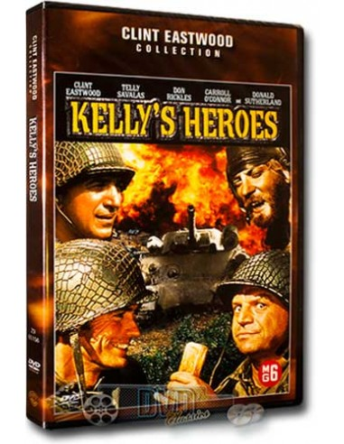 Kelly's Heroes - Clint Eastwood, Telly Savalas, Donald Sutherland - DVD (1970)