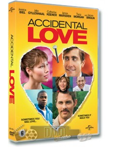 Accidental Love - Jake Gyllenhaal, Jessica Biel - DVD (2015)