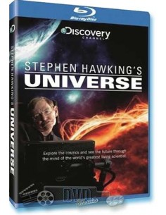 Stephen Hawking's Universe - Discovery -  Blu-Ray (1997)