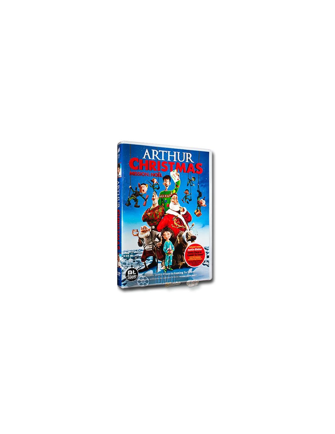 arthur christmas dvd unboxing