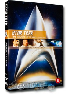 Star Trek  2 - The Wrath of Khan - William Shatner - DVD (1982)