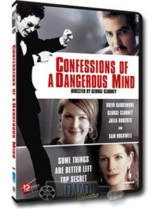 Confessions of a Dangerous Mind - George Clooney - DVD (2002)