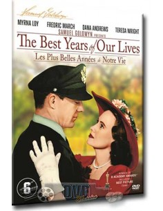 The Best Years of our Lives - Myrna Loy, Dana Andrews - DVD (1946)