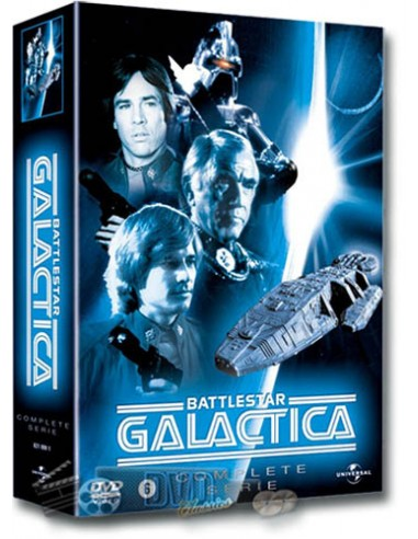 Battlestar Galactica - de Complete Serie - Lorne Greene - DVD (1978)