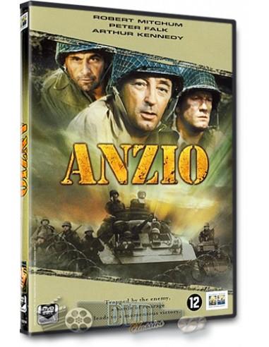 Anzio - Robert Mitchum, Peter Falk - Edward Dmytryk - DVD (1968)