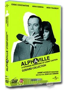 Alphaville - Eddie Constantine, Anna Karina - DVD (1965)