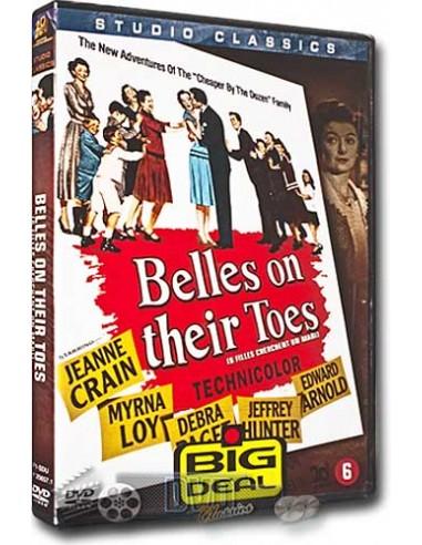 Belles on Their Toes - Jeanne Crain, Myrna Loy - DVD (1952)