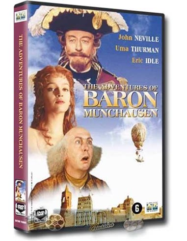 Adventures of Baron Munchausen - Eric Idle - DVD (1988)