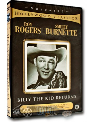 Billy the Kid Returns - Roy Rogers - DVD (1938)