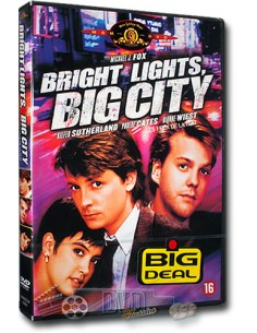Bright Lights, Big City - Michael J. Fox, Dianne Wiest - DVD (1988)