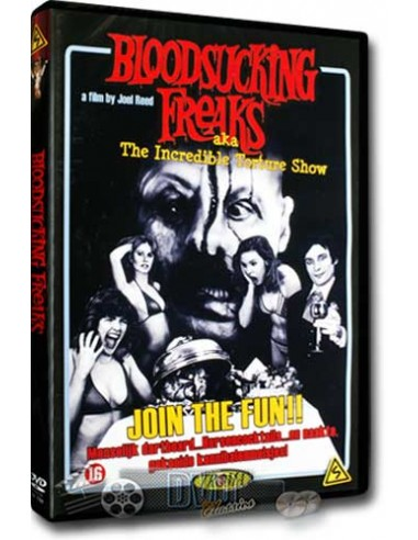 Bloodsucking Freaks - Seamus O'Brien, Viju Krem - DVD (1976)