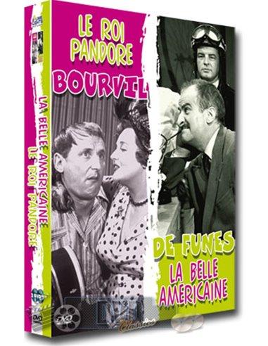 Bourvil meets De Funes-roi pandore/belle americaine - DVD (2007)