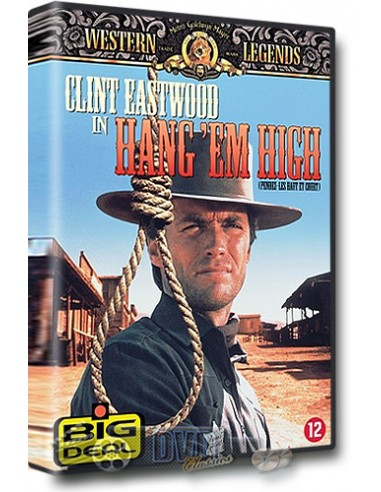 Clint Eastwood - Hang 'em High - Dennis Hopper - DVD (1968)