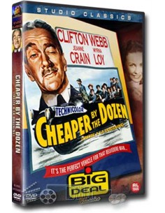 Cheaper by the Dozen - Clifton Webb, Jeanne Crain - DVD (1950)