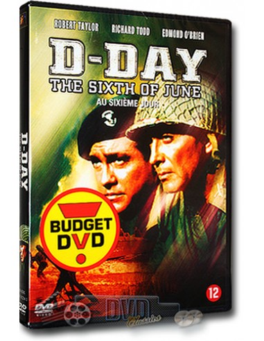 D-Day the Sixth of June - Robert Taylor - Henry Koster - DVD (1956)