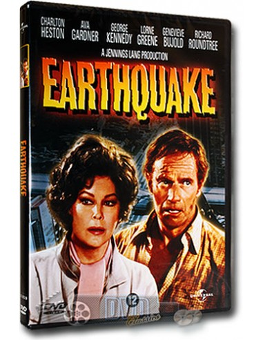 Earthquake - Charlton Heston, Ava Gardner - DVD (1974)