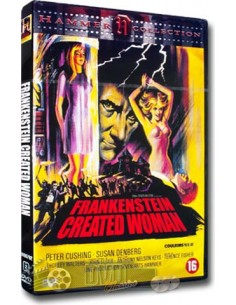 Frankenstein Created Woman - Peter Cushing - DVD (1967)