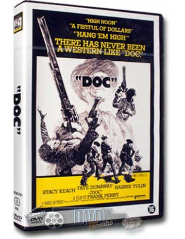 Doc - Faye Dunaway, Stacey Keach - Frank Perry - DVD (1971)