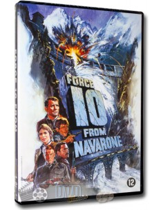 Force 10 from Navarone - Harrison Ford, Robert Shaw - DVD (1978)